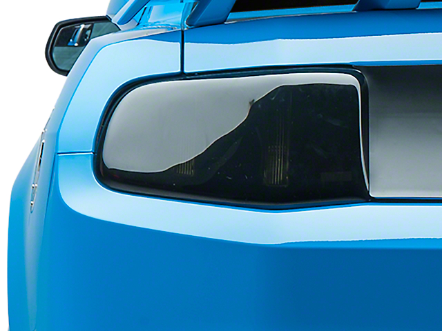 SpeedForm Tail Light Covers; Smoked (10-12 All)