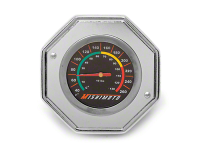 Mishimoto Performance Radiator Cap w/ Temperature Gauge (79-14 All)