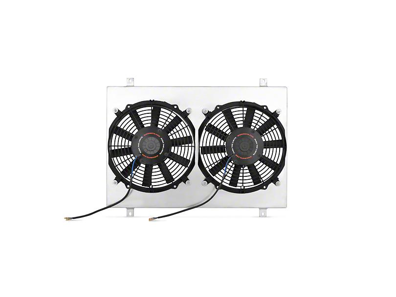 Mishimoto Dual High Flow 12 in. Fans w/ Aluminum Shroud (79-93 5.0L)