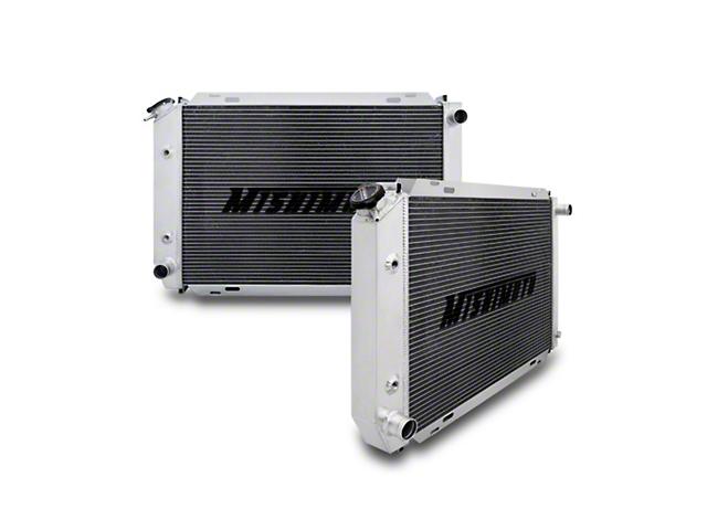 Mishimoto Aluminum Dual Pass Racing Radiator (79-93 5.0L w/ Manual Transmission)