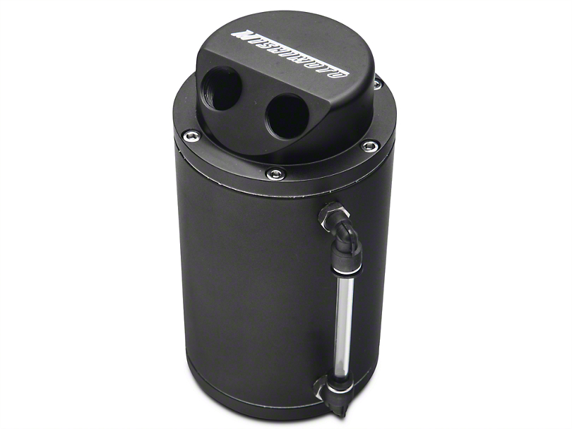 Mishimoto Oil Catch Can - Black (79-17 All)