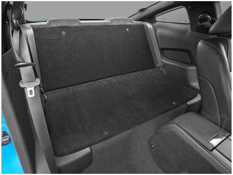 SpeedForm Rear Seat Delete Kit - Black (05-14 Coupe)