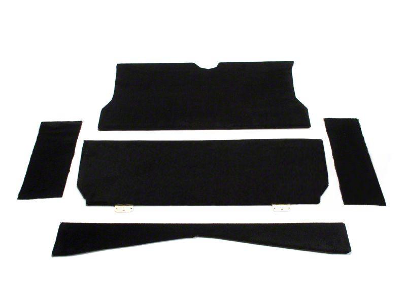 SpeedForm Rear Seat Delete Kit - Black (79-93 Coupe)