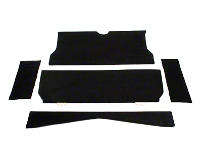 SpeedForm Rear Seat Delete Kit - Black (79-93 Coupe)