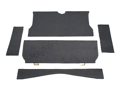 SpeedForm Rear Seat Delete Kit - Gray (79-93 Coupe)