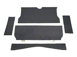 SpeedForm Rear Seat Delete Kit; Gray (79-93 Coupe)