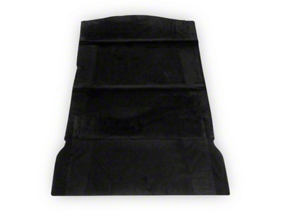 SpeedForm Rear Seat Delete Kit - Black (79-93 Hatchback)