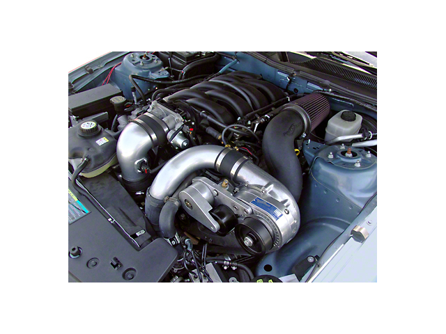 Procharger High Output Intercooled Supercharger Kit; Satin Finish (05-10 GT)