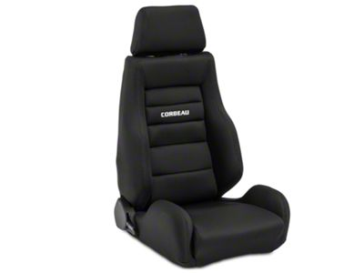 Corbeau GTS II Racing Seat - Black - Pair (79-19 All)
