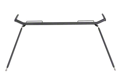 Corbeau Seat Belt Harness Bar (79-93 Coupe, Hatchback)