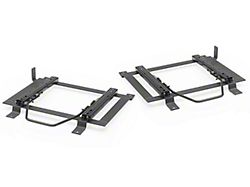 Corbeau Double Locking Seat Brackets; Driver and Passenger Side (79-98 All)