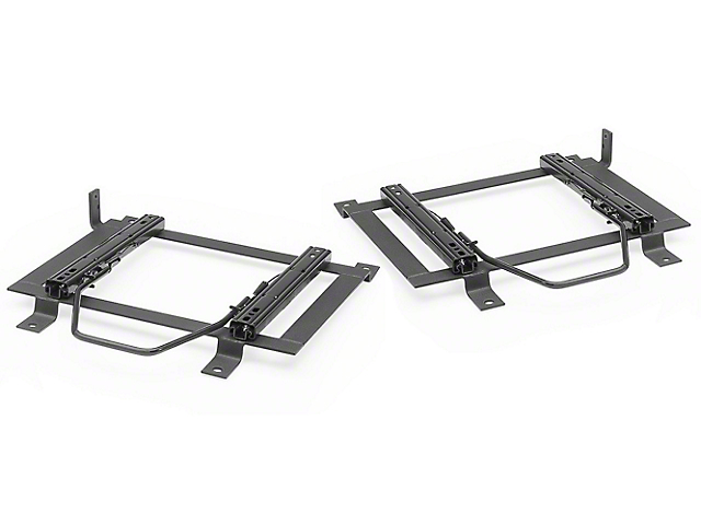Corbeau Double Locking Seat Brackets; Driver and Passenger Side (05-14 All)