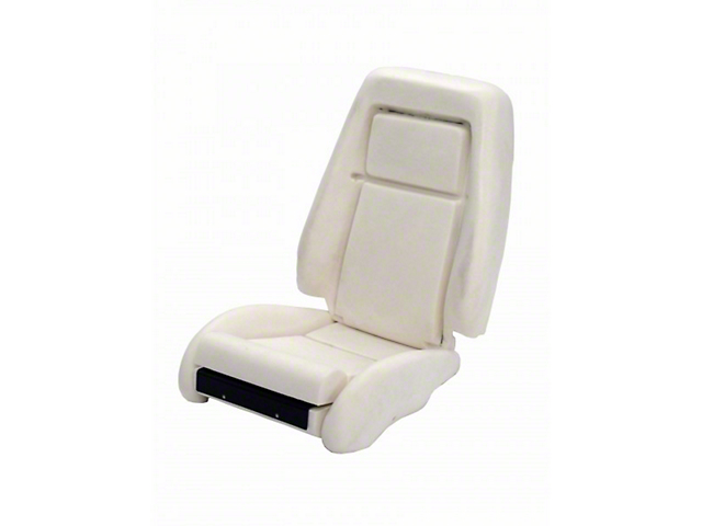TMI Sport Seat Seat Foam w/ Knee Bolster - 26 in. Back (84-89 All)