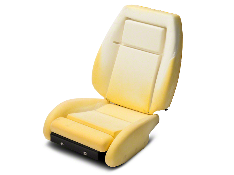 TMI Sport Seat Seat Foam w/ Knee Bolster - 24 in. Back (90-91 All)