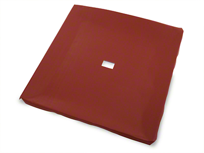 Red Vinyl Headliner (85-93 Coupe, Hatchback)