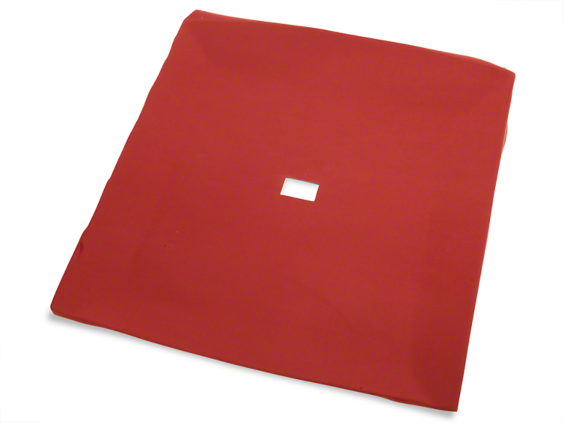 TMI Cloth Headliner; Red (85-93 Coupe, Hatchback)