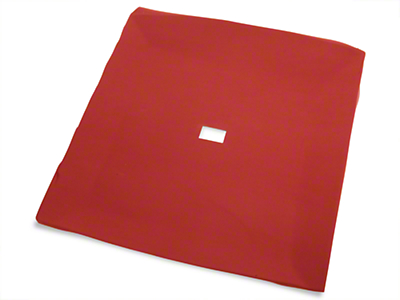 TMI Red Cloth Headliner (85-93 Coupe, Hatchback)