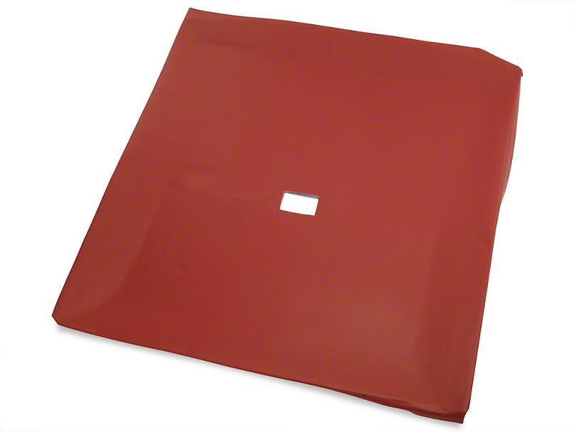 Red Vinyl Headliner - T-Top (79-88 Coupe, Hatchback)