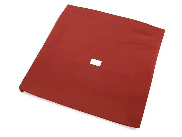 TMI Cloth T-Top Headliner; Red (79-88 Coupe, Hatchback)