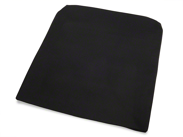 TMI Black Cloth Headliner; Sunroof (79-93 Coupe, Hatchback)