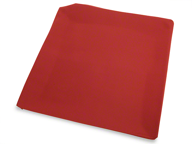 TMI Red Cloth Headliner - Sunroof (79-93 Coupe, Hatchback)