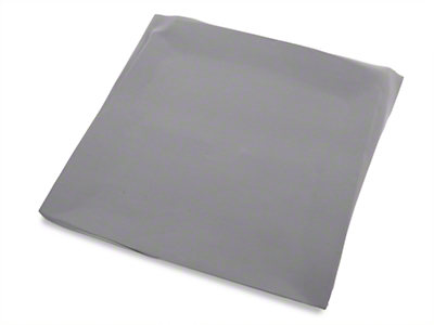 TMI Smoke Gray Cloth Headliner - Sunroof (87-89 Coupe, Hatchback)