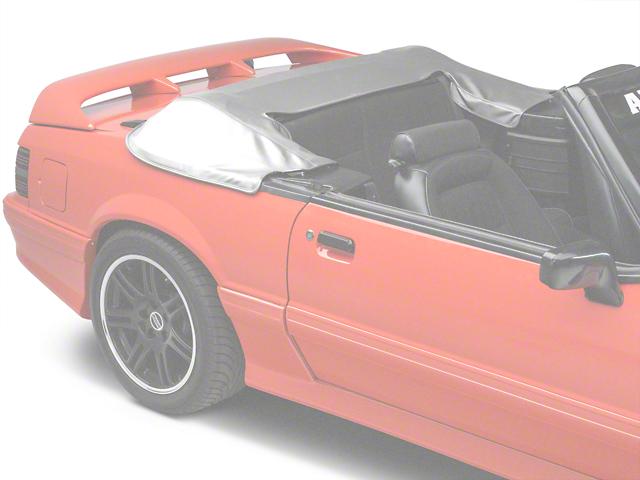 TMI Convertible Top Boot; White (90-93 Convertible)