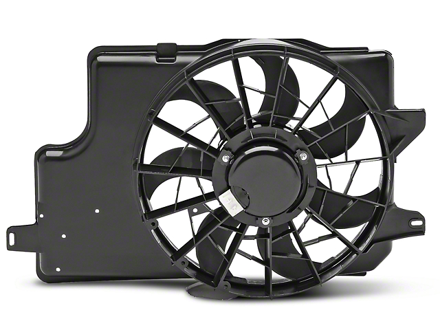 87014?$prodpg640x480$ opr mustang radiator shroud and fan assembly 87014 (94 96 all)