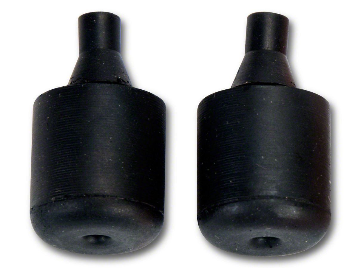 87-93 MUSTANG RUBBER BUMP STOPS FRONT FENDERS//HOOD 4-PIECE SET FORD OEM GT COBRA