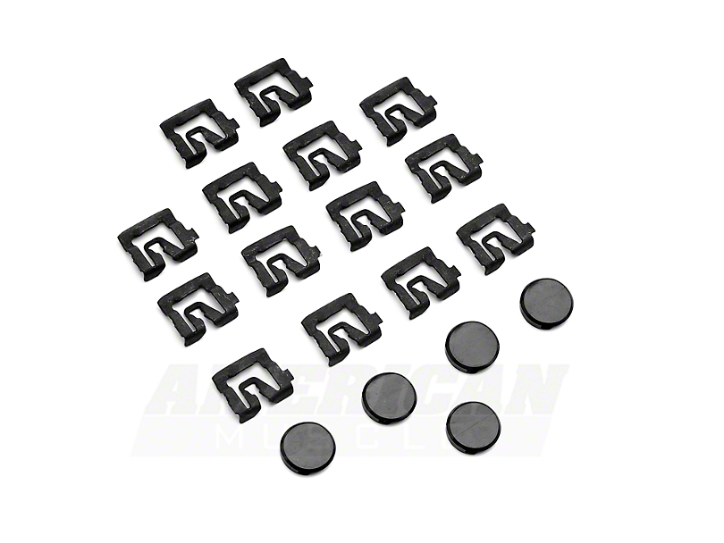 OPR Rear Window Molding Clip Kit (79-93 Coupe)