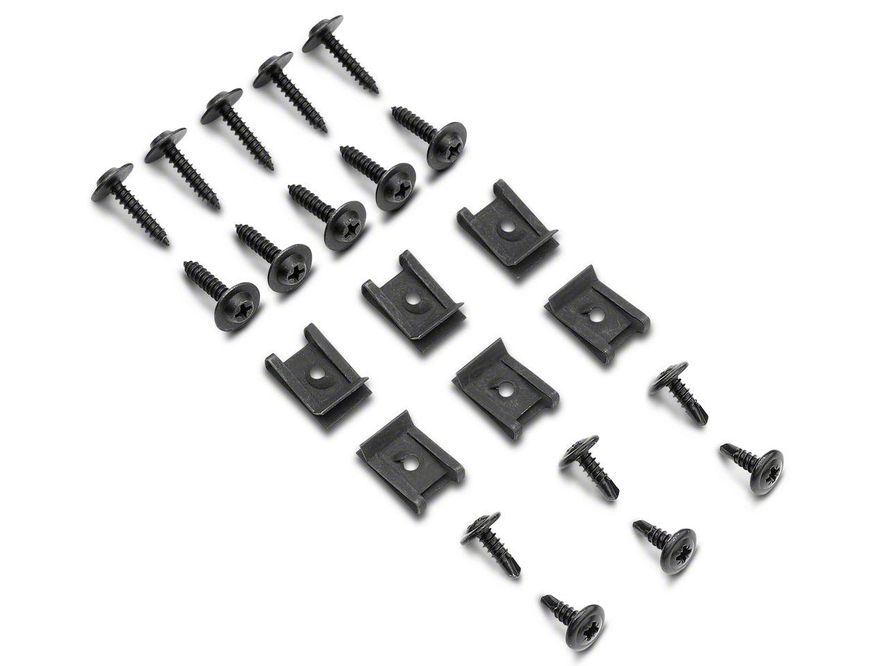 OPR Inner Fender Splash Shield Hardware Kit (79-93 All)