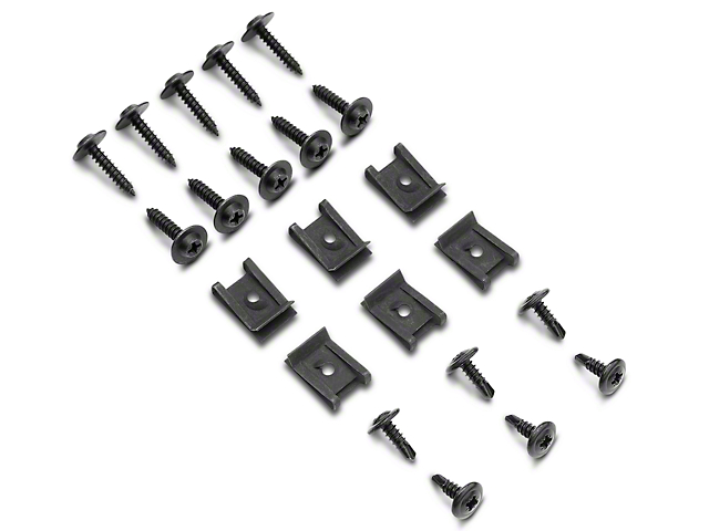 OPR Mustang Inner Fender Splash Shield Hardware Kit 87275