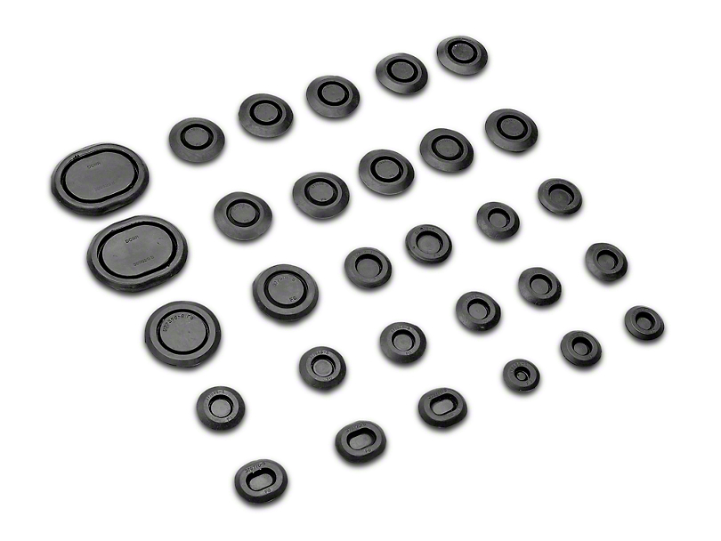 OPR Complete Body Rubber Plug And Grommet Kit (79-93 All)