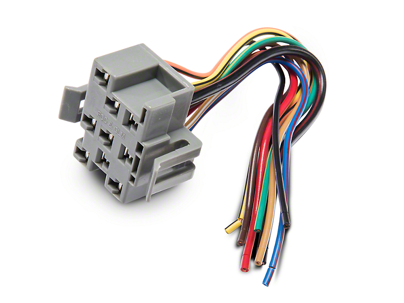 87285?$enlarged810x608$ opr mustang headlight switch repair harness 87285 (94 04 all Turn Signal Relay Wiring Diagram at mr168.co