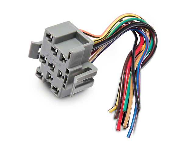 87285?$prodpg640x480$ opr mustang headlight switch repair harness 87285 (94 04 all mustang headlight switch wiring diagram at bayanpartner.co