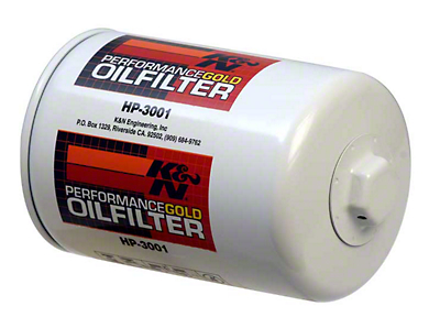 K&N Performance Gold Oil Filter (79-95 5.0L; 87-93 4-Cylinder)