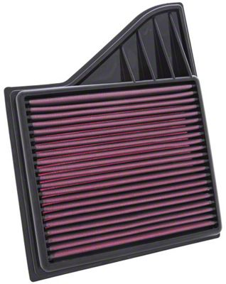 K&N Drop-In Replacement Air Filter (10-14 GT; 12-13 BOSS 302; 11-14 V6)