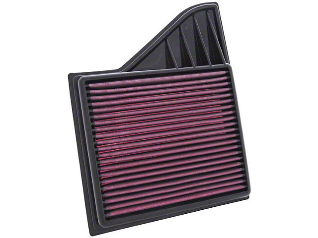 K&N Drop-In Replacement Air Filter (10-14 GT, BOSS; 11-14 V6)
