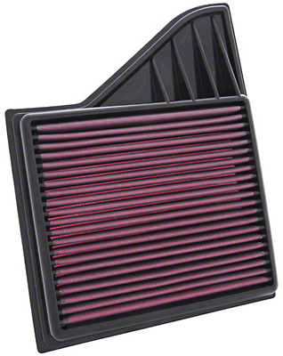 K&N Drop-In Replacement Air Filter (10-14 GT, BOSS; 11-14 V6)
