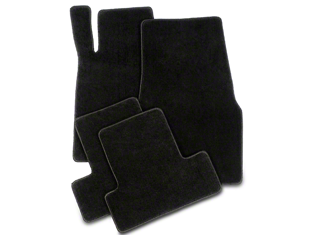 Lloyd Front and Rear Floor Mats; Black (05-10 All)