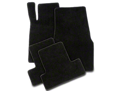 Lloyd Front & Rear Floor Mats - Black (05-10 All)