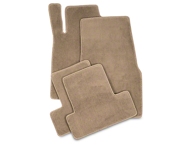 Lloyd Front and Rear Floor Mats; Parchment (05-10 All)