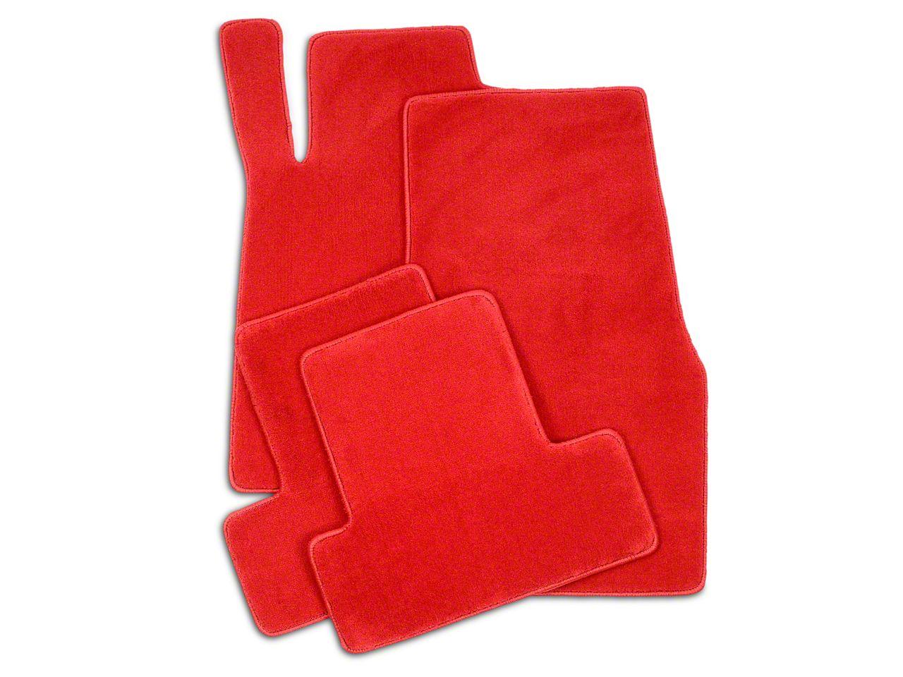 Lloyd Front & Rear Floor Mats - Red (05-10 All)
