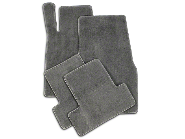 Lloyd Front and Rear Floor Mats; Gray (05-10 All)