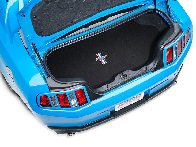 Lloyd Trunk Mat with Tri-Bar Pony Logo; Black (10-14 All)