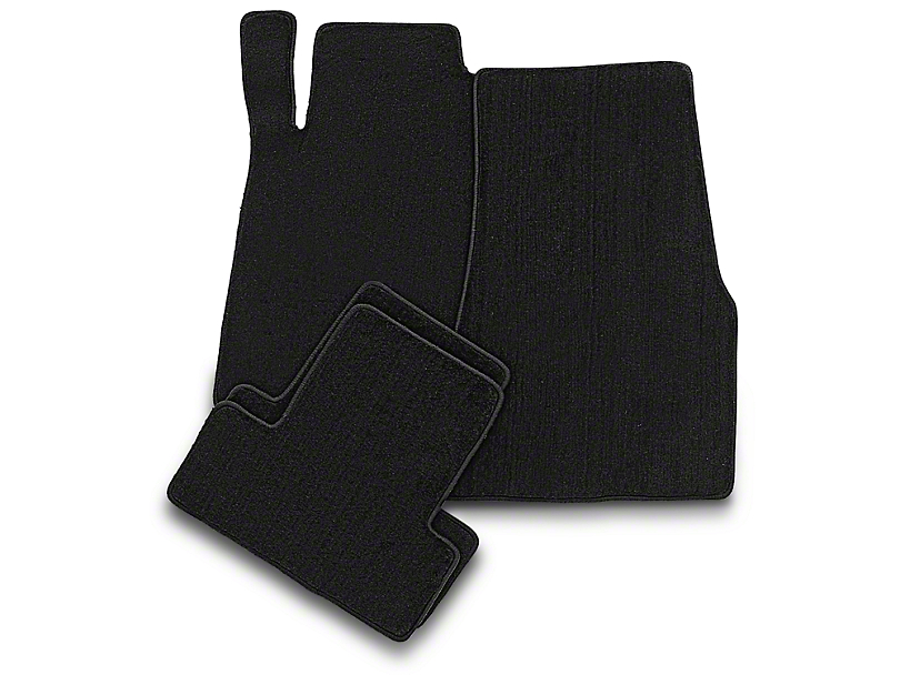 Lloyd Front and Rear Floor Mats; Black (13-14 All)