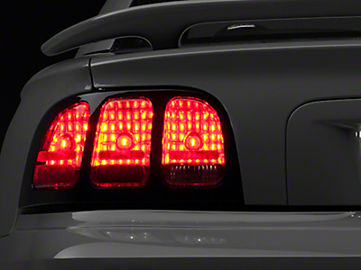 tail lights 94 98 mustang headlights 94 98 mustang light trim bezels. Black Bedroom Furniture Sets. Home Design Ideas