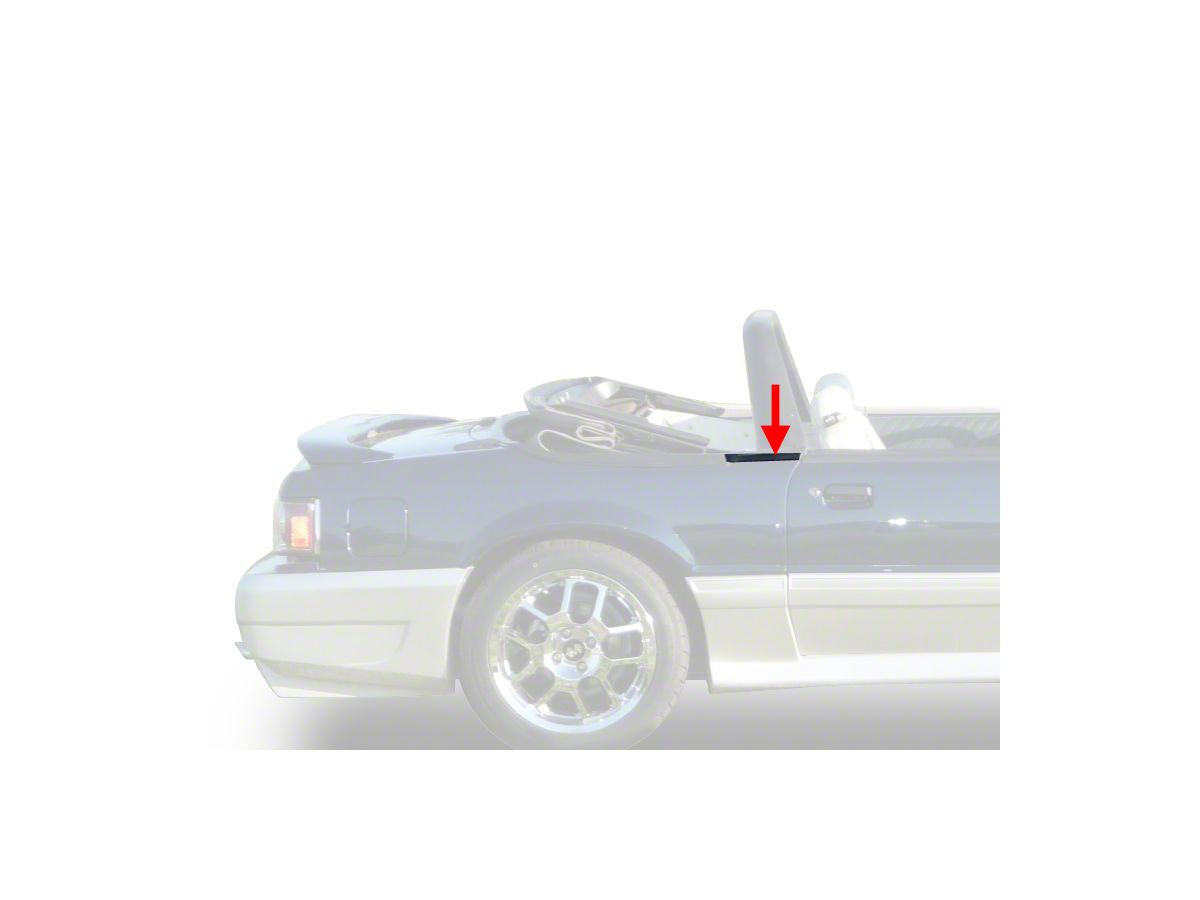 Weatherstrip Door Seal Rubber for 83-93 Ford Mustang Convertible Models