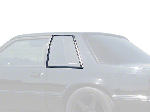 OPR Quarter Window Molding Cover Kit - Coupe (87-93 All)