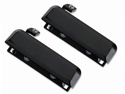 OPR Gloss Black Exterior Door Handles - Pair (79-93 All)